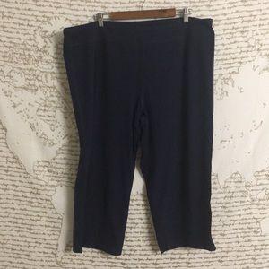 ✏️Danskin Now Navy Blue Yoga Capris